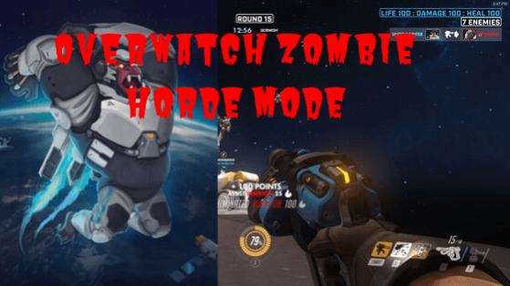 Overwatch Zombie Horde Mode