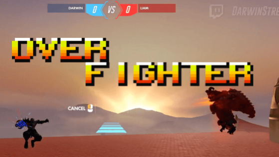 overwatch fighting game overfighter