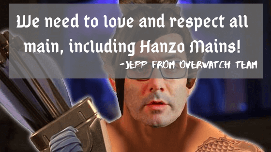 Repect hanzo main meme