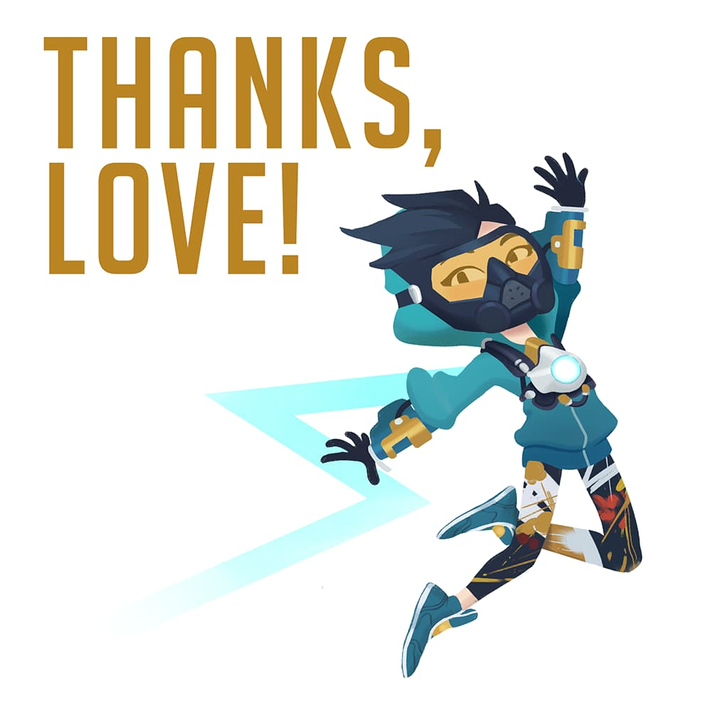 thank you tracer