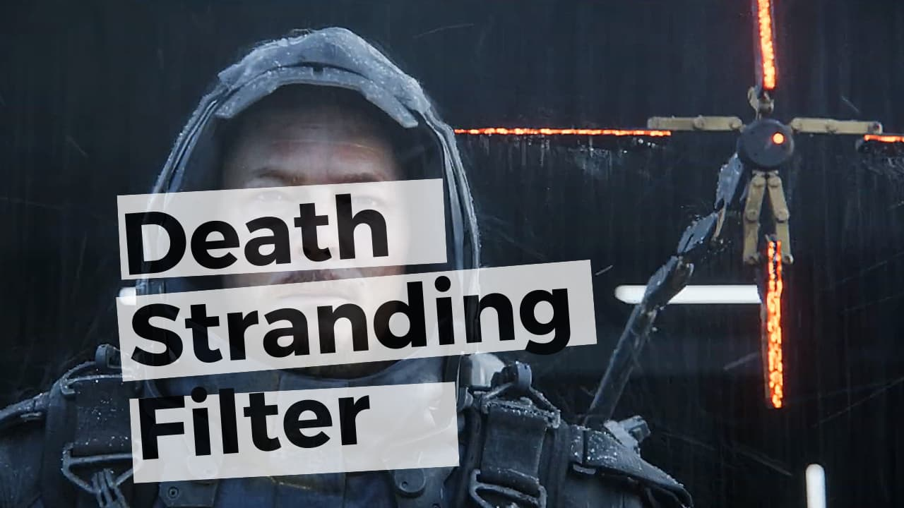 death strading filter for snapchat