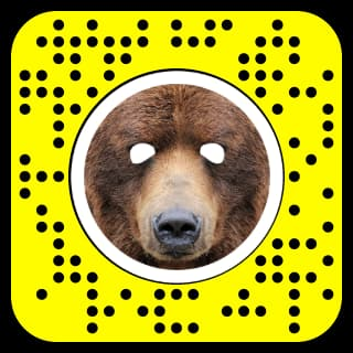 How to get the bear filter on Snapchat