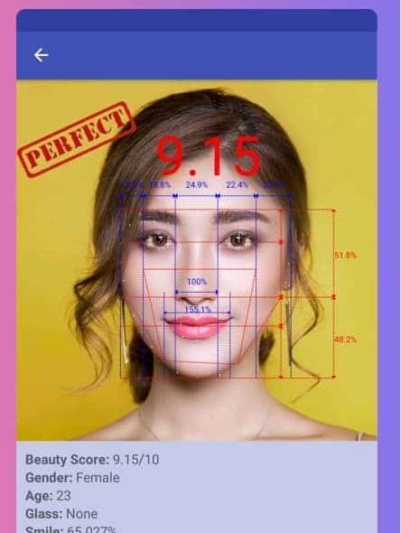 golden ratio face app