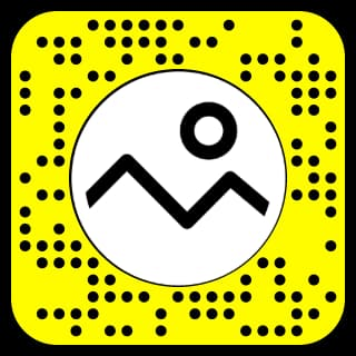 Snapchat filter where you can put a picture from camera roll snapcode