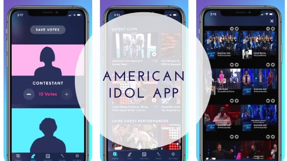 American idol app 2020 for voting