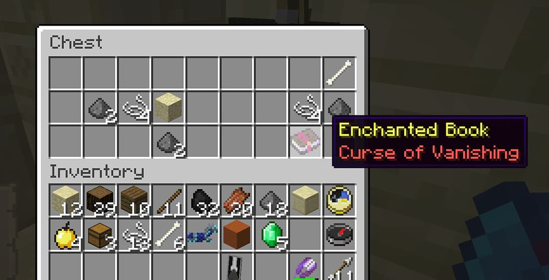 Curse of Vanishing best bow enchantments minecraft