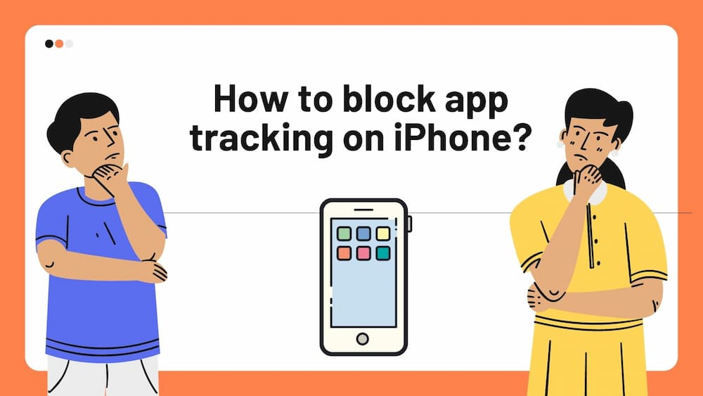How to block app tracking on iPhone