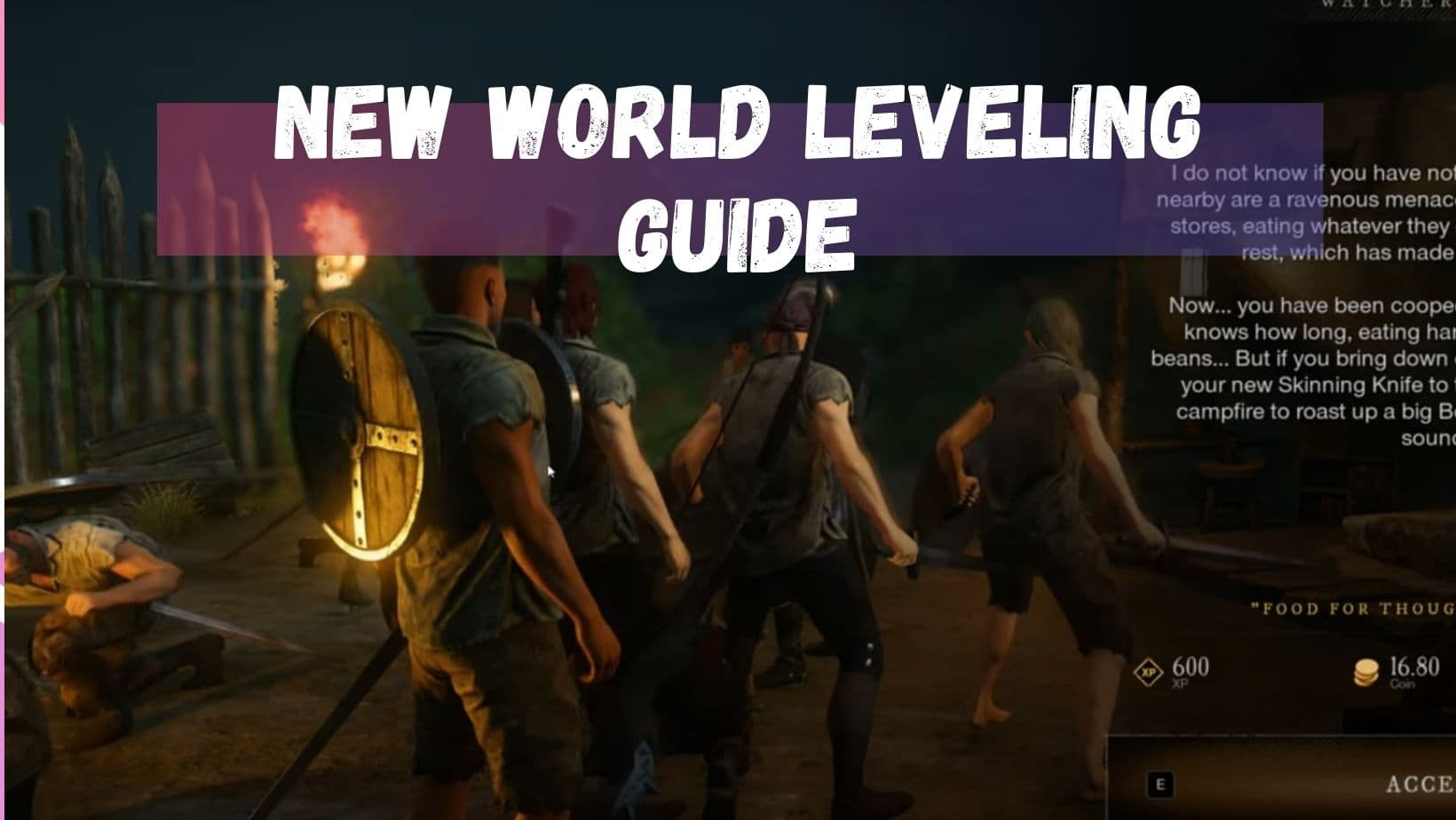 New World Leveling Guide